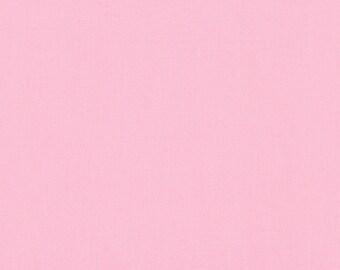 Kona® Cotton in Baby Pink K001-189 from Robert Kaufman 1/2 Yard
