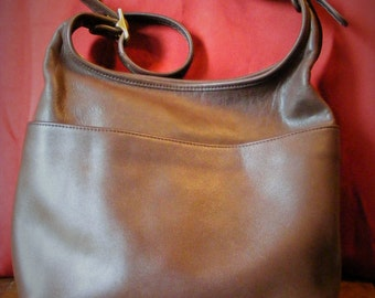 Brown Coach Legacy Handbag