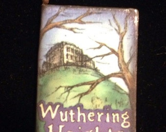 Fairytale Charm WUTHERING HEIGHTS Book Pendant