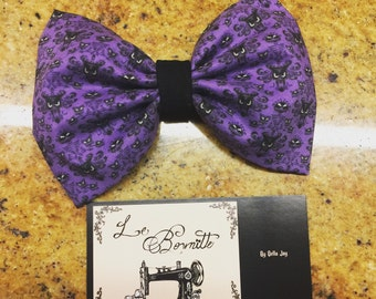 Haunted Mansion Hair Bow