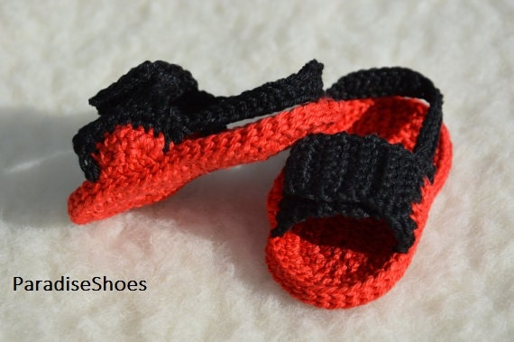 Crochet Jordans : crochet jordan hydro 4 shoes, crochet sandals baby, crochet sandals ...