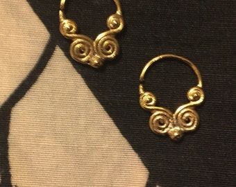 Wisdom Gold 16G Septum Ring