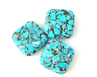 Magnesite Beads in Turquoise / Turquoise Colored Beads