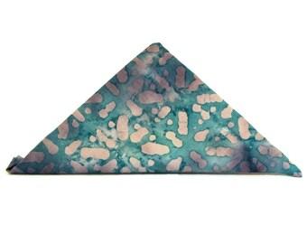 Blue Purple Fat Quarter  / / Blue Batik / Blue Purple Navy Batik / Blue Purple  Batik / Cotton Fabric / Quilting Fabric / Batik Fabric