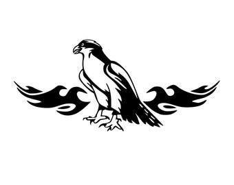 Cool Bird Vinyl Decal - Bird Laptop Sticker - Bird Vinyl Art - Bird Art - Bird Wall Art - Bird Car Sticker - Bird Laptop decal -Bird Vinyl