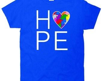 Hope Love Autism T-Shirt