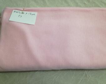DESTASH pink lightweight stretch knit fabric