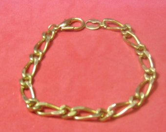 Vintage Bracelet gold tone
