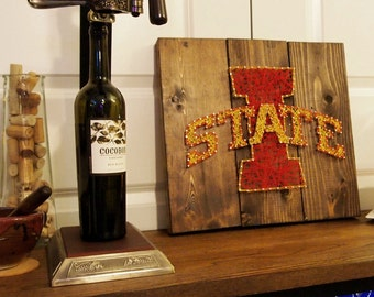 Iowa State Wall Art