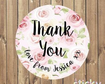 Personalized Thank You Stickers, Thank You Labels, Thankyou stickers, Small Business Stickers, Packaging Stickers, Craft Stickers, Custom