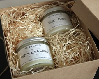 Soy Candle Gift Set - Christmas/Birthday
