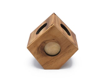 Wooden Toy : Bird House - The Organic Natural Puzzle Game Play for Baby and Kids