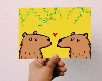 Cute Bear Card