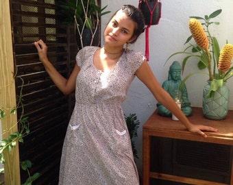 Bohemian vintage dress