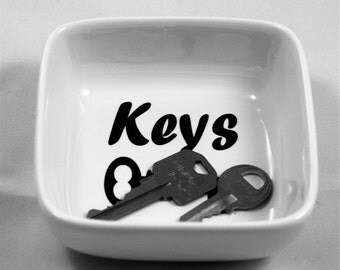 Key Dish-Spare key Dish-Dish Key Holder-Dish Key-Key Bowl-Dish for Keys-Keys Dish-Key bowl-Key Holder Dish-Bowl for Keys-Decorative Key Bowl