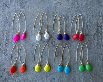 BOGO Fishook teardrop earrings - Buy one get one free!
