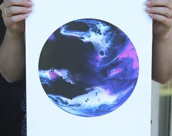 Orbit - A3 print