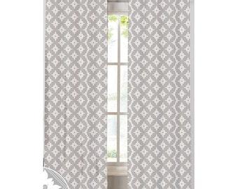 Kaleidoscope Custom Print Curtains | NECR