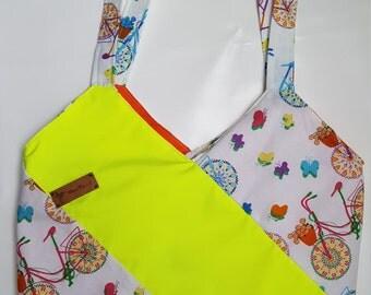 Neon bag change bag