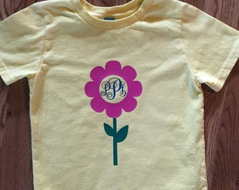 Flower Monogram Shirt