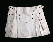 Winter White Utility Kilt Special - Limited Time Only