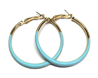 Blue Hoops | Free Shipping USA