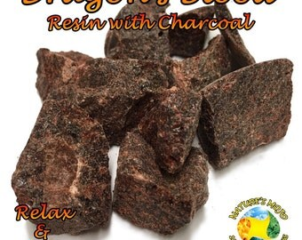 Dragon's Blood Resin with Charcoal