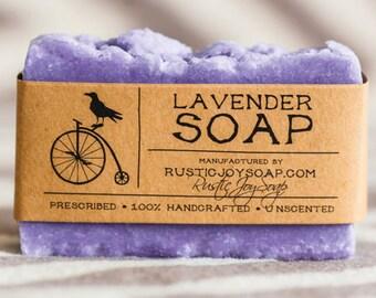 Lavender soap, gift for girlfriend, Valentine's Day gift, Natural Soap, Homemade Soap, gift for her, gift for women, gift for mom