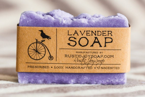 Lavender soap gift for girlfriend gift for her gift for women - Homemade soap with lavender the perfect gift ...