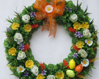 SALE! Spring Easter wreath.