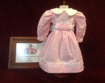 "Adorable Pink Dress for 18"" Doll"