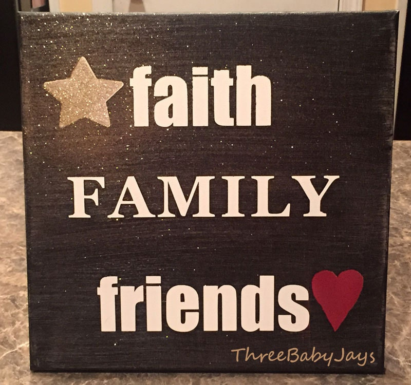 Family Friends Wall Decor : Kitchen dining