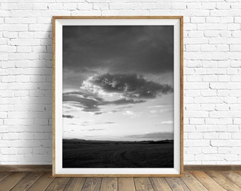 "nature photography, large art, large wall art, instant download, printable art, art print, black and white, photography, gray -""Ascending"""