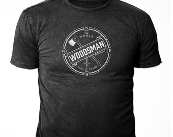 Noble Woodsman Logo Tee