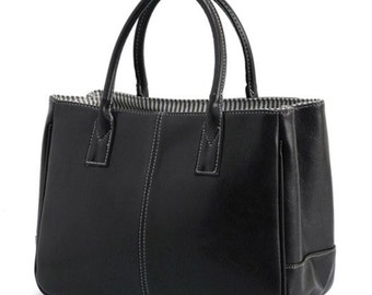 Versatile Leather Handbags with monogramming available