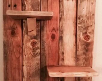 Rustic shelf