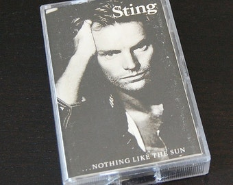 Vintage Cassette - Sting ...Nothing Like the Sun