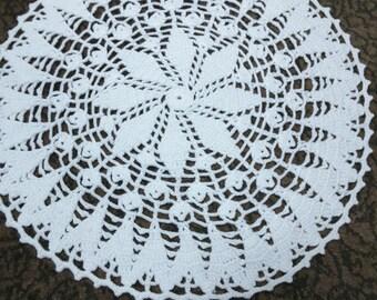 Vintage crochet tablecloth