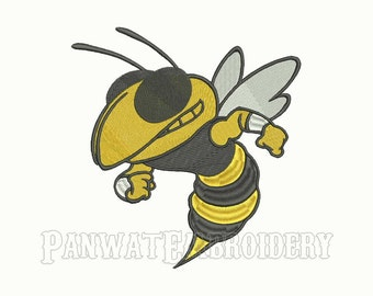 8 Size Georgia Tech Yellow Jackets Embroidery Designs, Machine Embroidery Designs, College Football Embroidery Designs - INSTANT DOWNLOAD