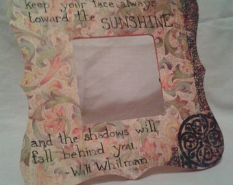 "Walt Whitman ""Sunshine"" Quote"