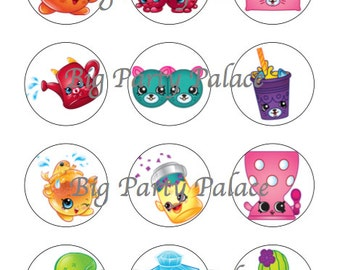shopkins season 4 printables....download images...birthday parties... party favors
