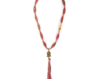 One of a Kind Beaded Necklace