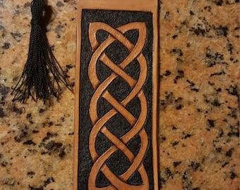 Custom Leather Bookmark