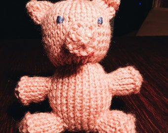 Knit Pig