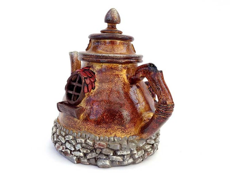Fairy House Fairy Garden Fairy Teapot By FairyDustedMiniature