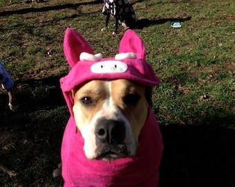 Custom dog jackets: animal themed