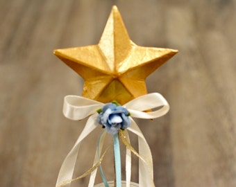 Star Wand in Blue