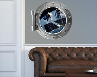 Portal  Decal Etsy - Portal 2 wall decals