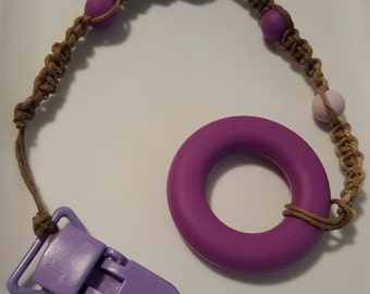 Ombre purple teether