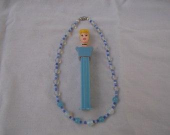 Little Princess Necklace Blue